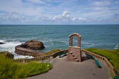 View from Biarritz Royalty Free Stock Images
