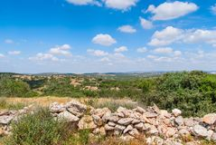 Judean Hills near Beit Shemesh Royalty Free Stock Photos