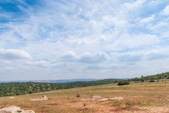 Judean Hills near Beit Shemesh Royalty Free Stock Photography