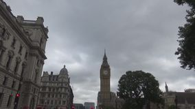 View on big ben – stock video footage