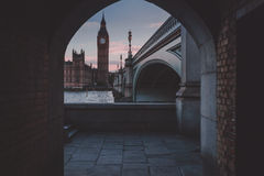 View of Big Ben Stock Images