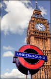Big Ben Underground. View of Big Ben in London Stock Photography