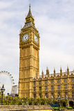 View of Big Ben - London Royalty Free Stock Images
