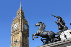 View of Big Ben, London, UK Royalty Free Stock Photography