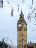 View of Big Ben on March 19, 2014 in London Stock Images