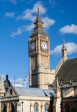 View of the Big Ben Tower Stock Photography