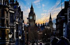 London - Great Britain. View of the Big Ben Royalty Free Stock Photography