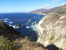 View of the Big Sur coastline Royalty Free Stock Image