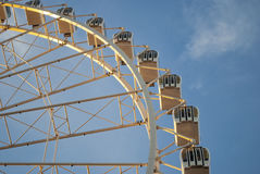 View of the big wheel in zaragoza, spain Stock Images