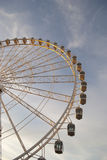 View of the big wheel in zaragoza, spain Stock Image