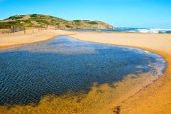 View of Binimela beach Stock Image