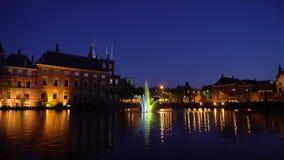 Binnenhof - Dutch Parliament, Holland. View of Binnenhof - Dutch Parliament with old town of The Hague, Holland stock video