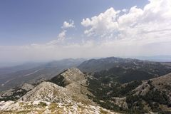 View of biokovo mountain Stock Photos