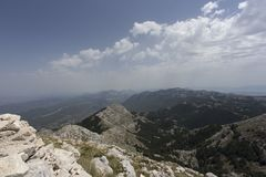 View of biokovo mountain Stock Image
