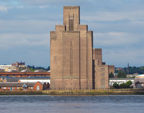 View of Birkenhead in Liverpool Royalty Free Stock Image