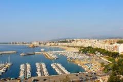 Blanes in summertime. Costa Brava, Girona. Stock Image