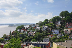 View of Blankenese Stock Photos