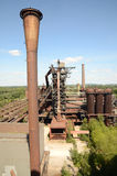 View from the blast furnace Stock Photos
