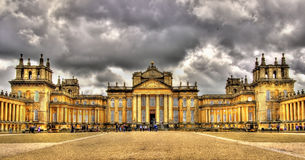 View of Blenheim Palace - England Stock Photography