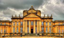 View of Blenheim Palace - Oxfordshire Stock Images