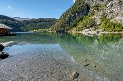 Blindsee lake in Tyrol Stock Photography