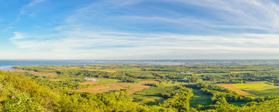 View from the Blomidon park look off Stock Photo