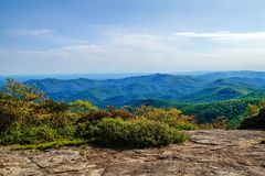 The View from Blood Mountain Royalty Free Stock Photos