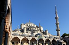View of Blue Mosque Royalty Free Stock Photo
