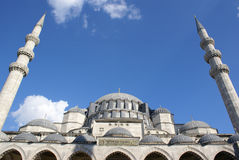 A view of Blue Mosque Stock Images