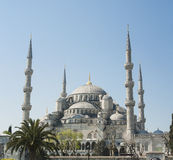View of the Blue Mosque in Istanbul Stock Photography