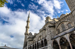 View on Blue Mosque in Istanbul Stock Images