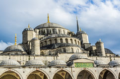 View on Blue Mosque in Istanbul Royalty Free Stock Photography