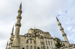 View on Blue Mosque in Istanbul Royalty Free Stock Images