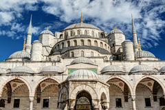 View of the Blue Mosque in Istanbul, Turkey Stock Images