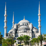 View of the Blue Mosque in Istanbul, Turkey Royalty Free Stock Photo