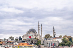 View on The Blue Mosque, (Sultanahmet Camii), Istanbul Royalty Free Stock Photos
