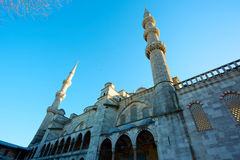 View of the Blue Mosque, Sultanahmet Camii, in Istanbul, Turkey Stock Images