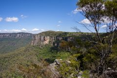 View of Blue Mountains Echo Point Katoomba, New South Wales, Australia