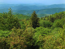 View of the Blue Ridge Mountains Royalty Free Stock Photo