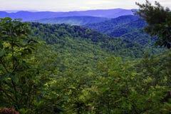 View of the Blue Ridge Mountains Stock Photos