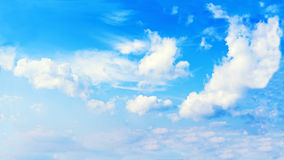 Beautiful view of blue sky and clouds. Stock Photography