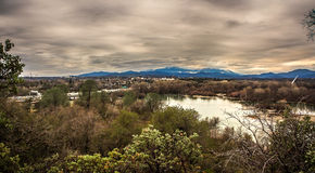The View From The Bluffs Royalty Free Stock Image