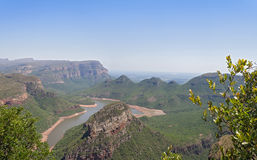 View into the Blyde River Canyon, Mpumalanga, South Africa Stock Images