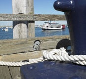 View of Boat from Dock royalty free stock images