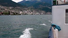 View from a Boat stock footage