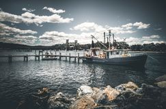 View of Boats in Sea Royalty Free Stock Photo