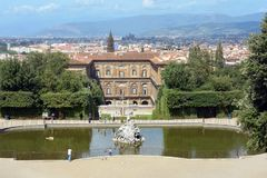 Palazzo Pitti in Florence - Italy. royalty free stock image