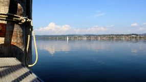 View of Bodensee lake Stock Photos