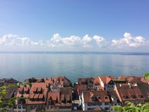 View of the Bodensee from Meersburg Royalty Free Stock Photos