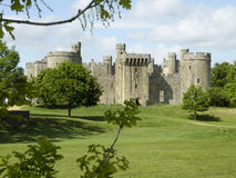 View on Bodium Castle Royalty Free Stock Photos